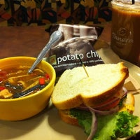 Photo taken at Panera Bread by Rui W. on 7/3/2012