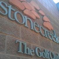 Photo taken at Stonecreek Golf Club by Fred B. on 8/29/2012