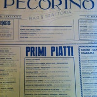 Photo taken at Pecorino Bar & Trattoria by Herbert Victor L. on 3/25/2012