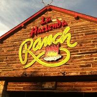 Photo taken at La Hacienda Ranch Preston Trail by Steph M. on 6/20/2012