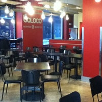 Photo taken at Boloco by Adam T. on 2/19/2012