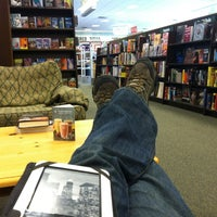 Photo taken at Barnes & Noble by Deryck R. on 1/15/2012
