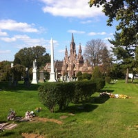 Photo taken at Green-Wood Cemetery by Ian P. on 10/23/2011