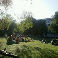 Photo taken at Burggarten by Milena on 5/19/2012