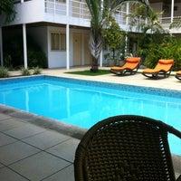 Photo taken at Hotel Aconchego by Paulo Tadeu on 8/30/2012