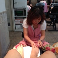 Photo taken at Carnegie Nails & Spa by Jessie L. on 6/9/2012