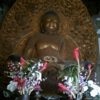 Photo taken at Byodo-In Temple by Ashley V. on 2/19/2012