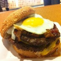 Photo taken at Mahaloha Burger by Nathan K. on 9/6/2012