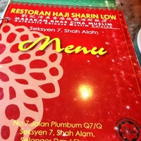 Photo taken at Hj Sharin Low Grand Restaurant by Suhaila S. on 7/10/2012