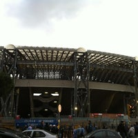 Photo taken at Stadio San Paolo by Marco G. on 2/26/2012