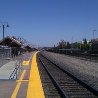 Photo taken at Santa Clara Caltrain Station by Elizabeth T. on 7/3/2012