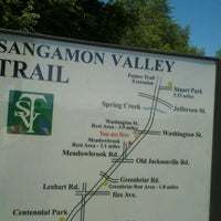 Photo taken at Sangamon Valley Trail by Quinn on 5/30/2012