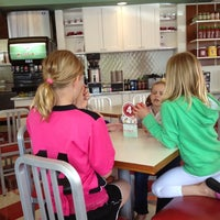 Photo taken at Dickie Jo's Burgers by Pat M. on 5/5/2012