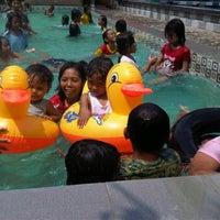 Photo taken at LOVINA - Family Resort - Jogging Track & Swimming Pool by idul D. on 4/15/2012