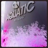 Photo taken at Aquatic Restaurant et Salon de thé by Antar W. on 8/27/2012