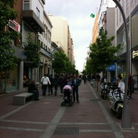 Photo taken at Calle Ancha by Jose Manuel D. on 4/18/2012
