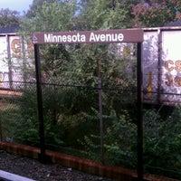 Photo taken at Minnesota Avenue Metro Station by Tyrone B. on 10/26/2011