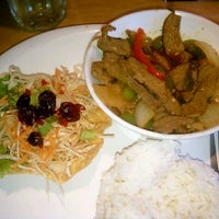 Photo taken at Thai Pepper by Catherine E. on 6/4/2012