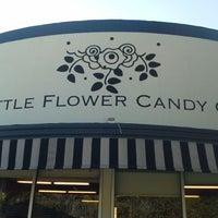 Photo taken at Little Flower Candy Company by Bernard V. on 12/28/2011
