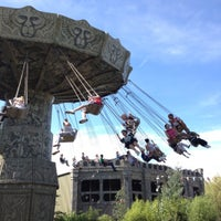 Photo taken at Monkey Swinger by Kuniko on 8/17/2012