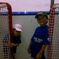 Photo taken at Joyce Center Notre Dame Hockey by Danny O. on 9/3/2011