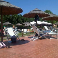 Photo taken at Piscina dei Renai by Marco E. on 6/25/2011