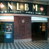 Photo taken at Negro Leagues Baseball Museum by Elle on 7/21/2012