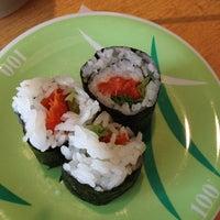 Photo taken at Marinepolis Sushi Land by Omar A. on 4/6/2012