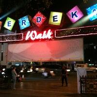 Photo taken at Merdeka Walk by OeTje on 6/2/2012