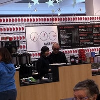 Photo taken at Take Five Cafe Richmond Centre by Dennis H. on 12/28/2010