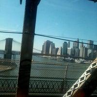 Photo taken at MTA Subway - Manhattan Bridge (B/D/N/Q) by Ricardo J. S. on 2/22/2012