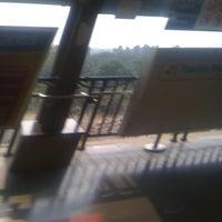 Photo taken at Qutab Minar Metro Station by Rocky D. on 11/4/2011