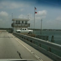 Photo taken at Harkers Island Draw Bridge by Jeff H. on 7/22/2011