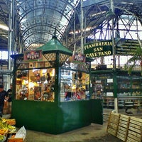 Photo taken at Mercado de San Telmo by William C. on 12/27/2011