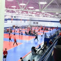 Photo taken at Great Lakes Volleyball Center by Tracy M. on 11/19/2011