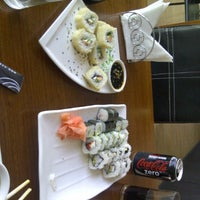 Photo taken at Kenji Sushi by Carlos P. on 1/12/2012