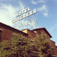 Photo taken at The Hotel Congress by Simon K. on 8/20/2012