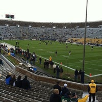 Photo taken at Notre Dame Stadium by Tony R. on 10/29/2011