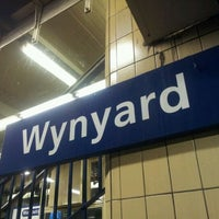 Photo taken at Wynyard Station (Main Concourse) by M F. on 1/11/2012
