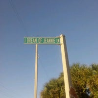 Photo taken at I Dream of Jeannie Lane by Larry C. on 1/3/2012