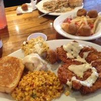 Photo taken at Boudreaux's Cajun Kitchen by girlubkillnem H. on 8/12/2012