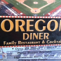 Photo taken at Oregon Diner by Sean W. on 8/5/2012