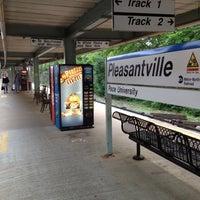 Photo taken at Metro North - Pleasantville Train Station by Matt F. on 5/25/2012
