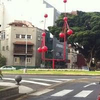 Photo taken at Ramblas de Santa Cruz by Nan P. on 6/3/2012