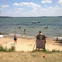 Photo taken at B.B. Clarke Beach by Aj B. on 6/19/2012