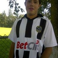 Photo taken at Cancha 4 - Liga UNAM by Martha V. on 10/22/2011