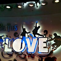 Photo taken at The Beatles LOVE (Cirque Du Soleil) by David O. on 1/10/2012
