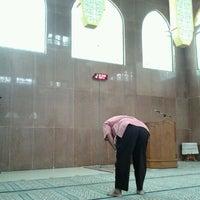 Photo taken at Masjid Baiturrahim by Mokhammad M. on 12/7/2011