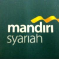 Photo taken at mandiri Syariah by D  80Y on 2/16/2012
