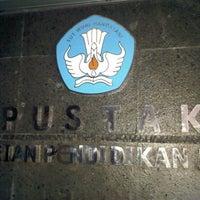 Photo taken at Kemendiknas by Bang R. on 11/30/2011